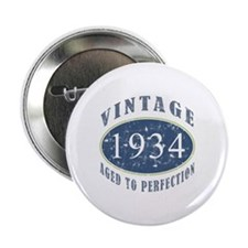 "1934 Vintage (Blue) 2.25"" Button (10 pack)"