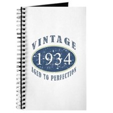 1934 Vintage (Blue) Journal