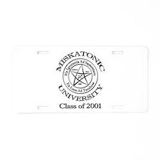 Class of 2001 Aluminum License Plate