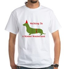 Walking In A Wiener Wonderland Shirt