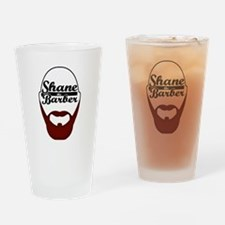 Shane The Barber Drinking Glass