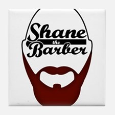 Shane The Barber Tile Coaster