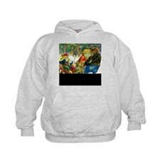The Yule Log in Animal Land Hoody