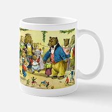 Christmas Dance in Animal Land Mug