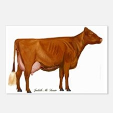 Milking Shorthorn Postcards (Package of 8)