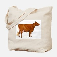 Milking Shorthorn Tote Bag