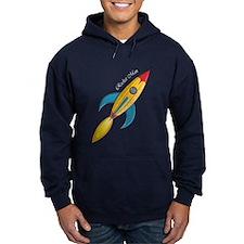 Rocket Man Rocket Ship Hoodie