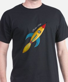 Rocket Man Rocket Ship T-Shirt