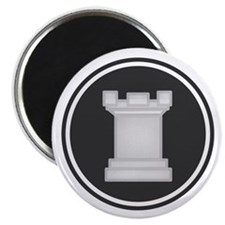 White Rook Chess Piece Magnets