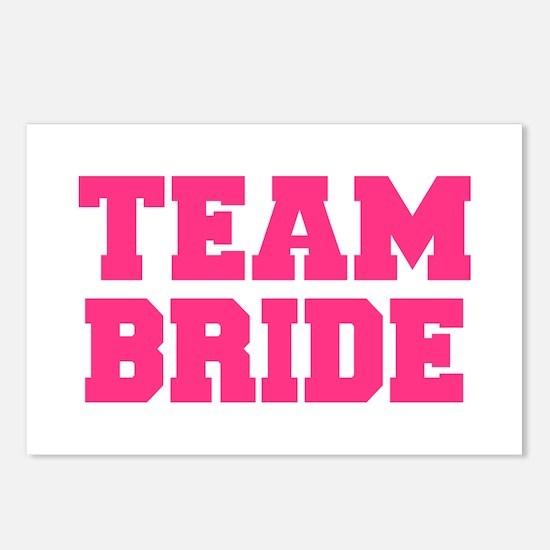 Team Bride Postcards (Package of 8)