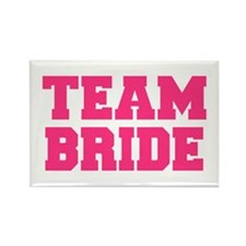 Team Bride Rectangle Magnet