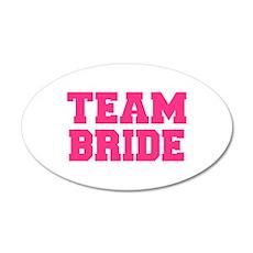 Team Bride Wall Decal