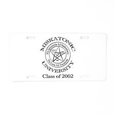 Class of 2002 Aluminum License Plate