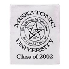 Class of 2002 Throw Blanket