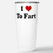 Farting Thermos Mug