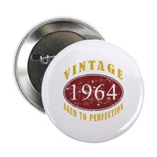 "1964 Vintage (Red) 2.25"" Button"
