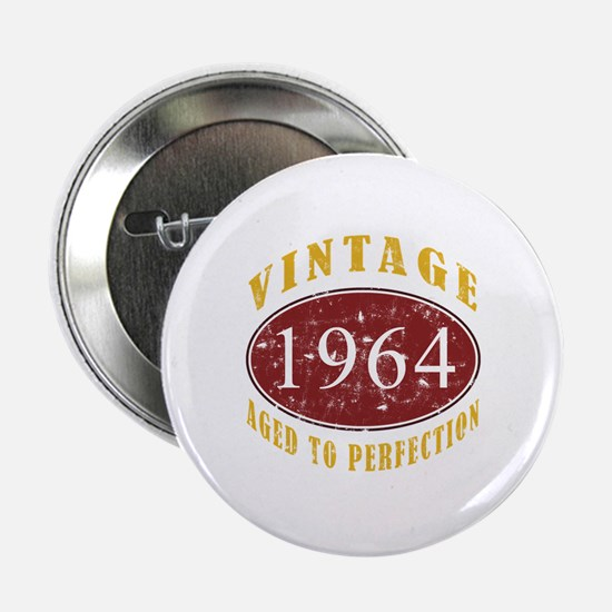 """1964 Vintage (Red) 2.25"""" Button"""