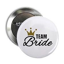 """Team Bride crown 2.25"""" Button"""