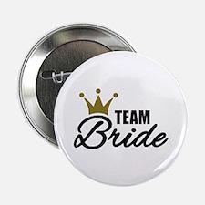"""Team Bride crown 2.25"""" Button (10 pack)"""