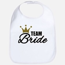 Team Bride crown Bib