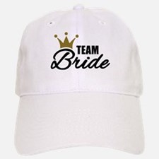 Team Bride crown Baseball Baseball Cap