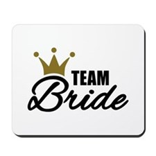 Team Bride crown Mousepad