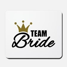 Team Bride crown Mousepad