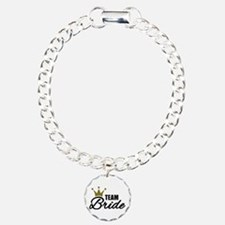 Team Bride crown Bracelet