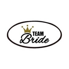 Team Bride crown Patches