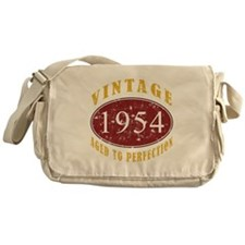 1954 Vintage (Red) Messenger Bag