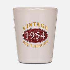 1954 Vintage (Red) Shot Glass