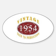 1954 Vintage (Red) Decal