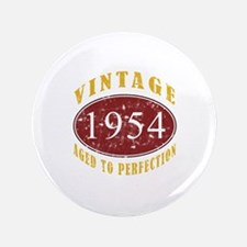 """1954 Vintage (Red) 3.5"""" Button"""