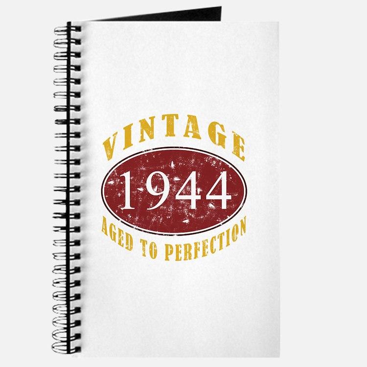 1944 Vintage (Red) Journal