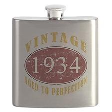 1934 Vintage (Red) Flask