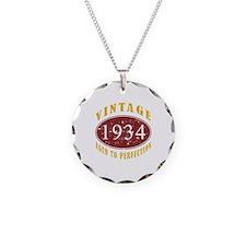 1934 Vintage (Red) Necklace
