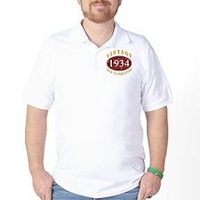 1934 Vintage (Red) T-Shirt