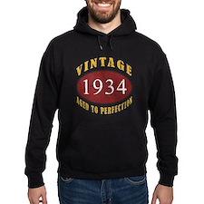 1934 Vintage (Red) Hoodie