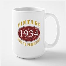 1934 Vintage (Red) Mug