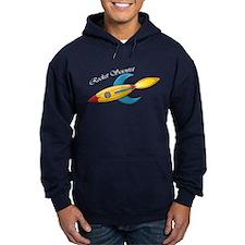 Rocket Scientist Rocket Ship Hoodie