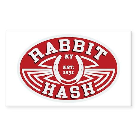 Rabbit Hash Sticker (rectangle)