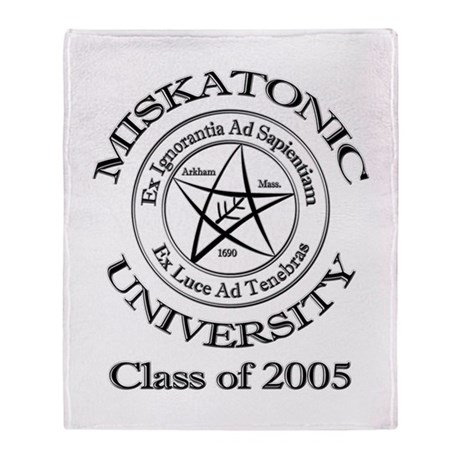 Class of 2005 Throw Blanket
