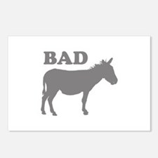 Badass Postcards (Package of 8)