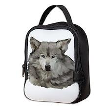 Wolf Neoprene Lunch Bag