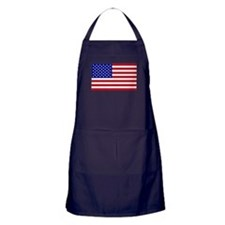 American Flag BBQ Apron (dark)