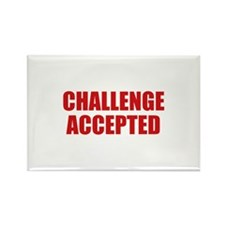 Challenge Accepted Rectangle Magnet (100 pack)