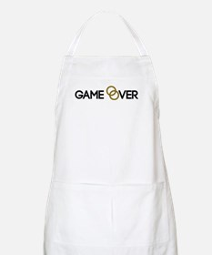 Game over Wedding rings Apron