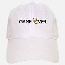 Game over Wedding rings Baseball Baseball Cap