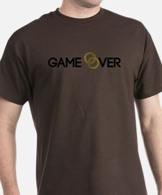 Game over Wedding rings T-Shirt