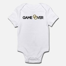 Game over Wedding rings Infant Bodysuit